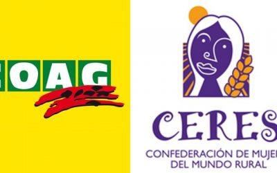 COAG y CERES denuncian la escasez de recursos para combatir la violencia de género en el medio rural