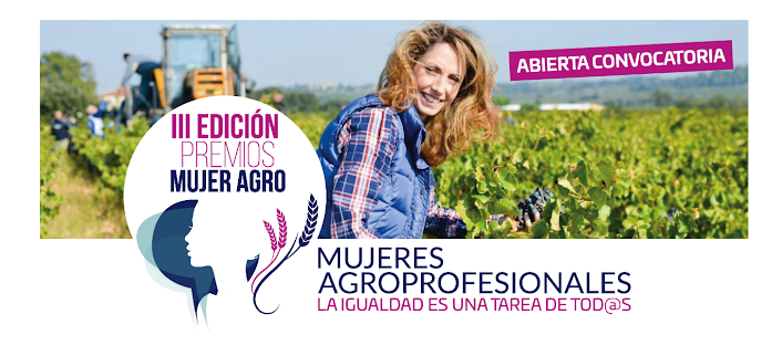 Abierta la convocatoria de la III Edición de los Premios Mujer Agro