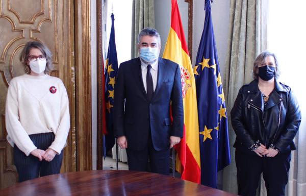 """FADEMUR se reúne con el ministro de Cultura y Deporte: """"Los pueblos necesitan su apoyo para salir del confinamiento"""""""
