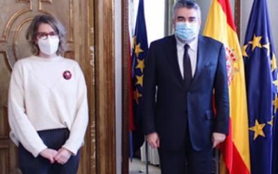 FADEMUR llevará al ministro de Cultura ante 'La Silla de Anea' en Martos (Jaén)