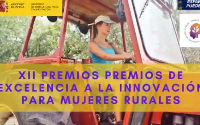 La inscripción para participar en los Premios de Excelencia a la Innovación para Mujeres Rurales continúa abierta hasta el próximo 4 de junio